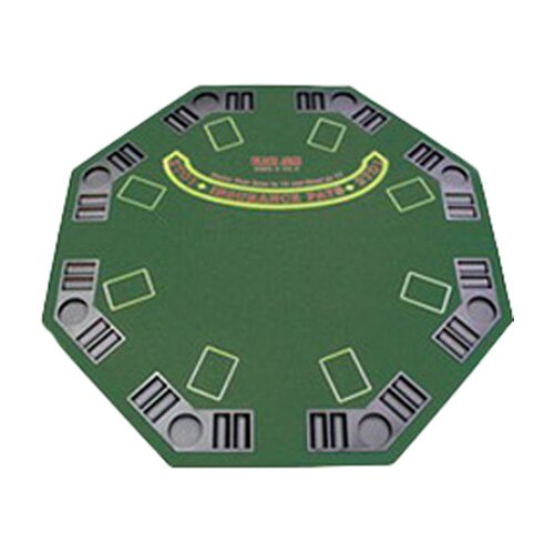 Trademark Global Poker & Casino Poker and Blackjack Table Top