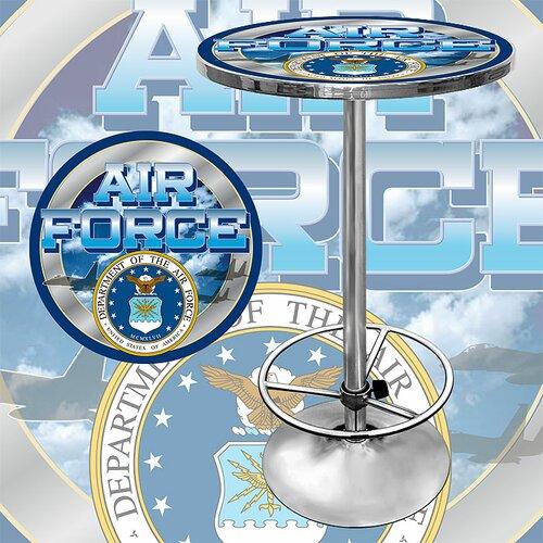 Trademark Global US Air Force Pub Table