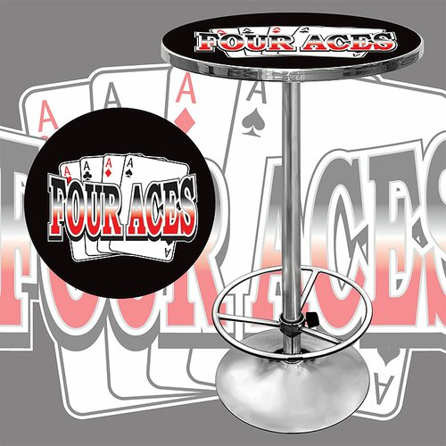 Trademark Global Four Aces Pub Table