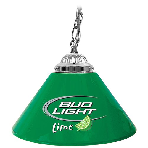 Bud Light Lime Single Shade Bar Lamp