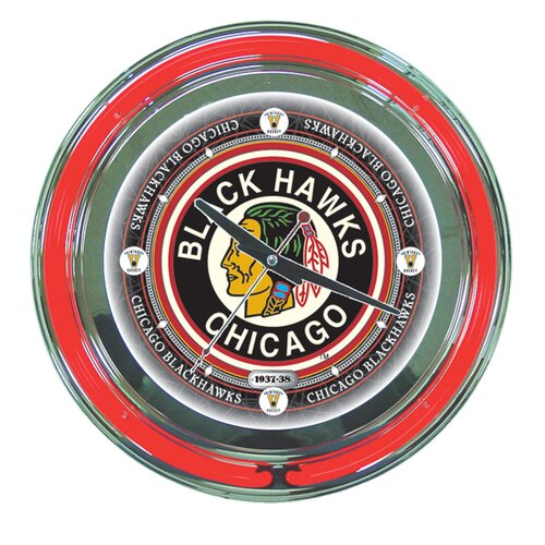 "Trademark Global NHL Team 14"" Wall Clock"