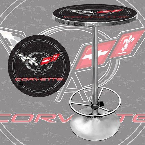 Trademark Global Corvette C5 Adjustable Pub Table