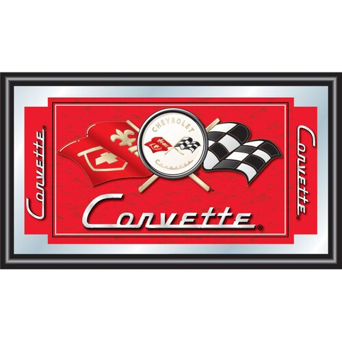Trademark Global Corvette C1 Framed Graphic Art