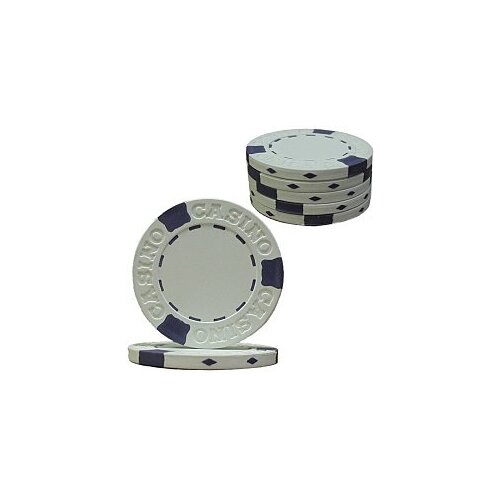 Trademark Global 650 Pro Clay Casino Chips with Aluminum Case