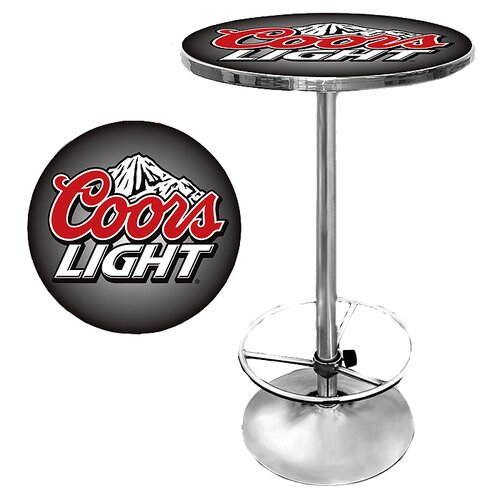 Trademark Global Coors Light Pub Table