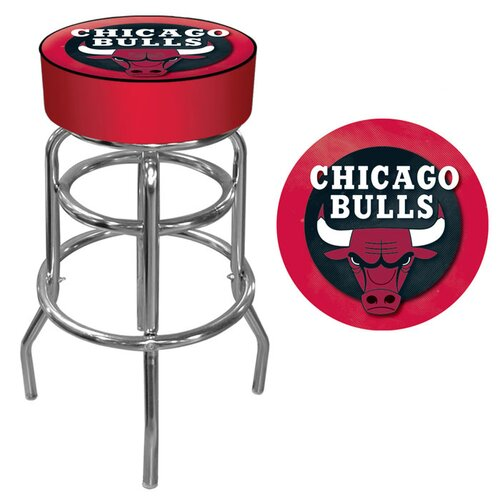 "Trademark Global 31"" NBA Swivel Bar Stool with Cushion"