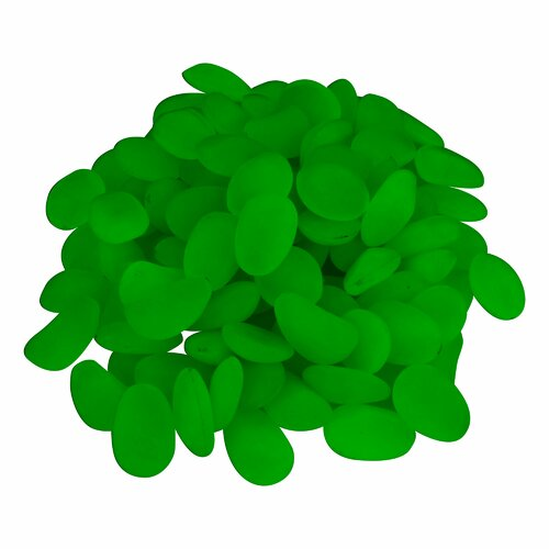 Trademark Global Glow in the Dark Pebble (Set of 500)
