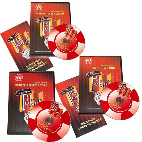 Trademark Global Ultimate Poker DVD Collection
