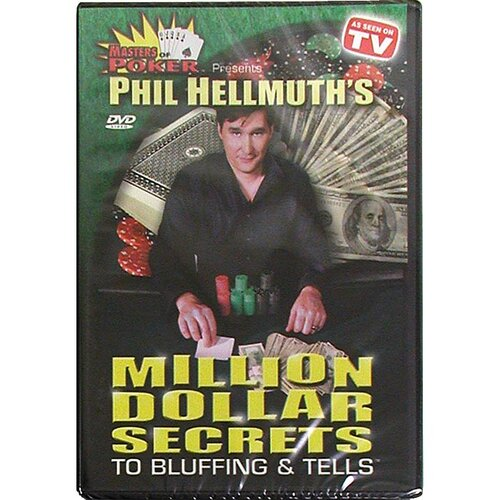 Trademark Global DVD - Phil Hellmuth's Million Secrets To Bluffing & Tells