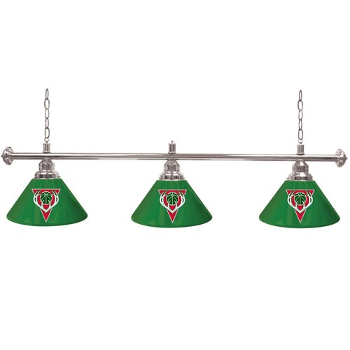 Trademark Global NBA Billiard Lamp with 3 Shades