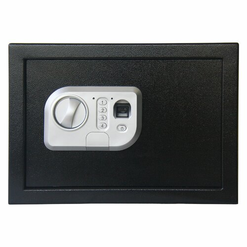 Trademark Global Stalwart Fingerprint and Digital Lock Safe