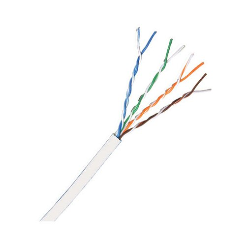 Comprehensive Cat 5e 350MHz Solid Cable in White