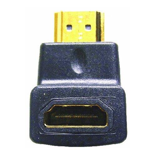Comprehensive HDMI Female to Right Angle Male - Downward Position Adapter