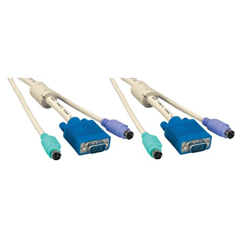 """Comprehensive 72"""" KVM HD15M and MD6M and MD6M Cable"""