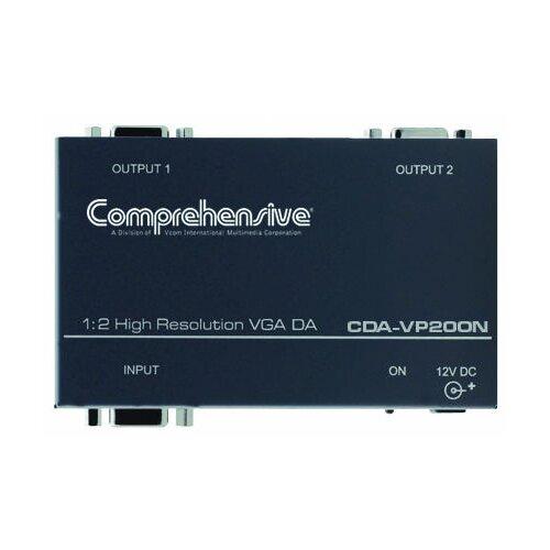 Comprehensive 1 x 2 VGA/ x GA DA, 400 MHz, DC Coupling, ID Bit Control