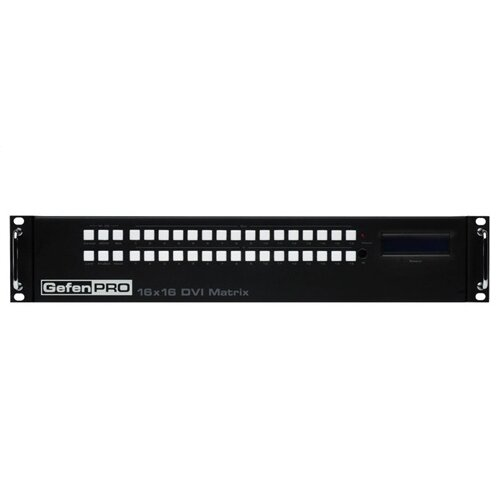 Comprehensive DVI Matrix with Front Panel Push Button Control