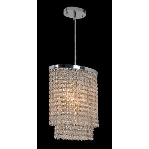 Worldwide Lighting Prism 4 Light Chandelier