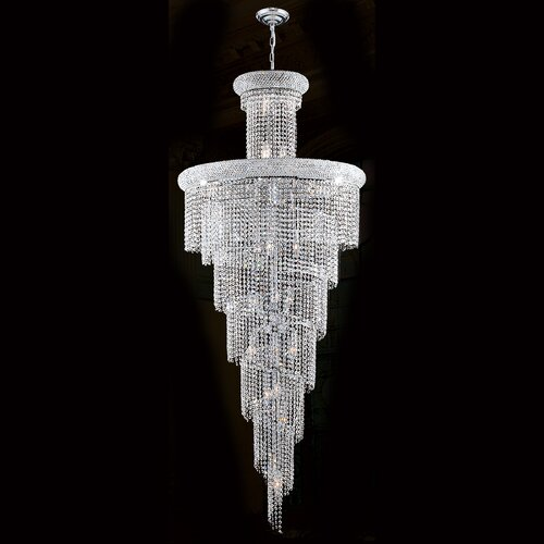 Empire 28 Light Crystal Chandelier