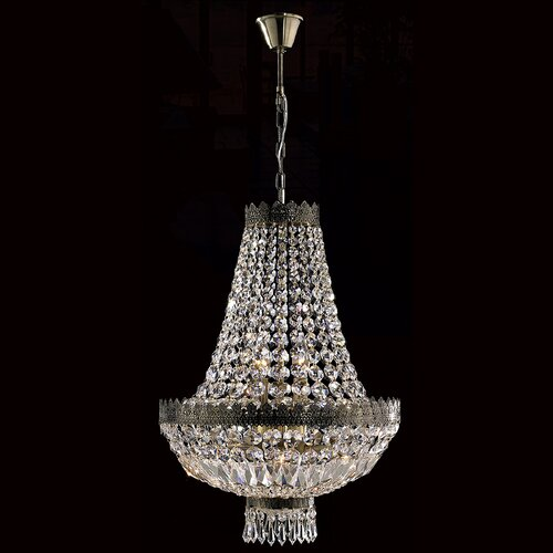 Metropolitan 6 Light Crystal Chandelier