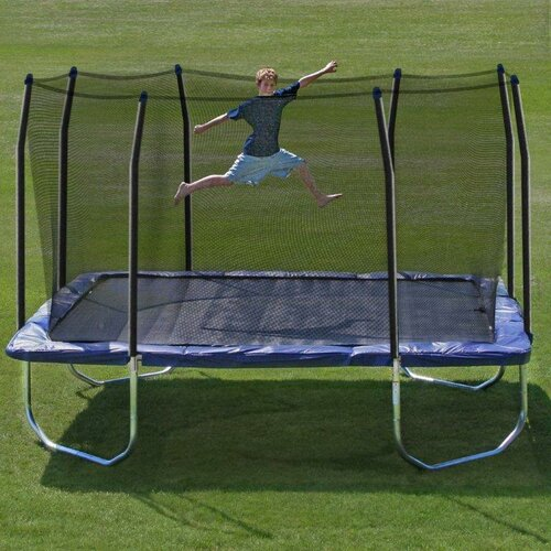 New Heavy Duty Trampoline 14 Ft With Ladder Safety Net: Skywalker 13' Square Trampoline With Safety Enclosure