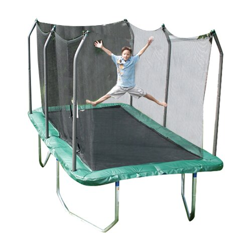 Skywalker Trampolines Summit 14' Rectangle Trampoline with Safety Enclosure
