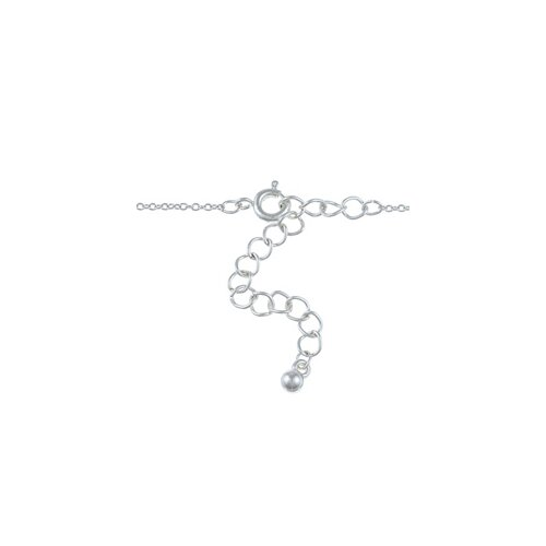 Zirconmania Silvertone Book of Secrets and Crystal Charm Necklace