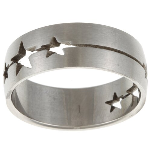Trendbox Jewelry Star Cut-out Band Ring