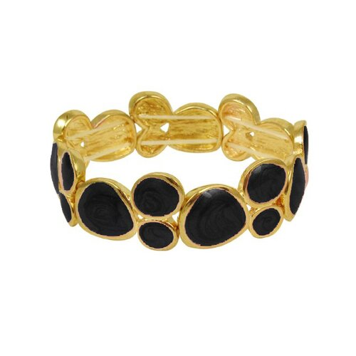 Trendbox Jewelry Geometric Stretch Bangle Bracelet