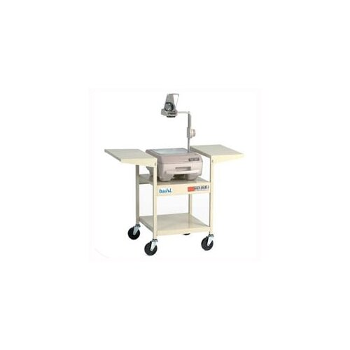 Buhl Height-Adjustable Steel Projector Cart