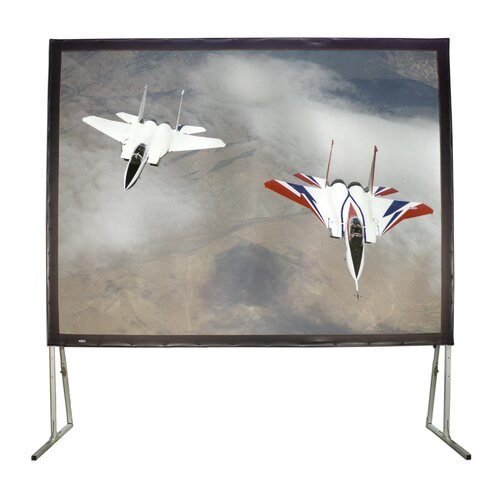 "Buhl Matte White 100"" Diagonal Fixed Frame Projection Screen"