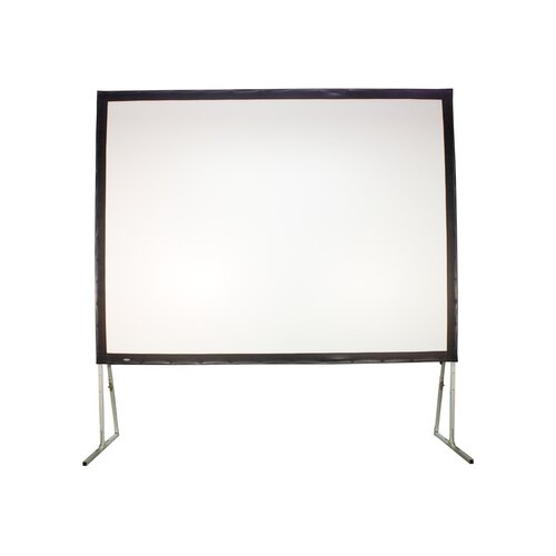 Buhl Matte White Portable Projection Screen