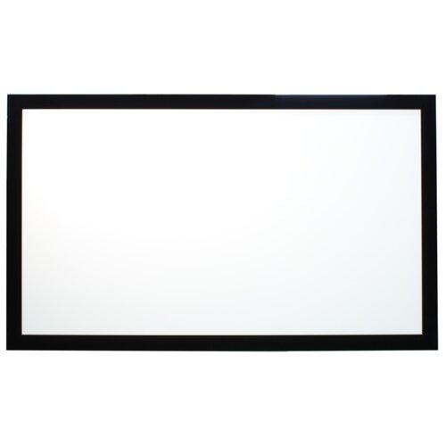 "Buhl Matte White 110"" Diagonal Fixed Frame Projection Screen"