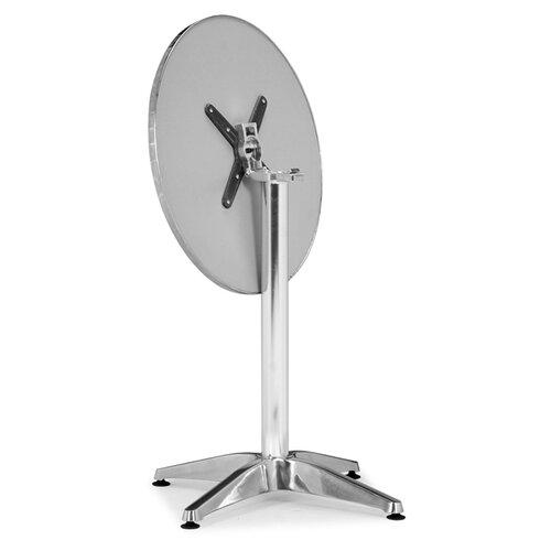 dCOR design Christable Round Folding Bistro Table