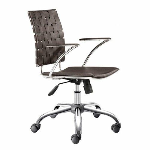 dCOR design High-Back Criss Cross Office Chair