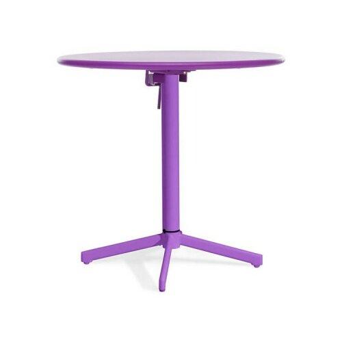 "dCOR design Big Wave 29.9"" Round Folding Table"