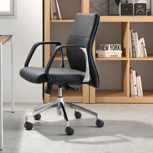 dCOR design Conductor Low Back Office Chair