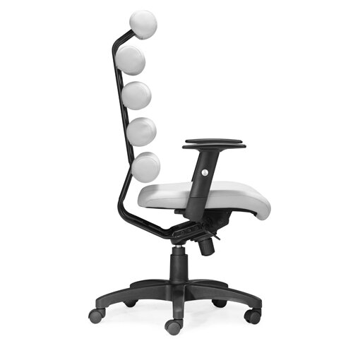 dCOR design Unico Office Chair in White