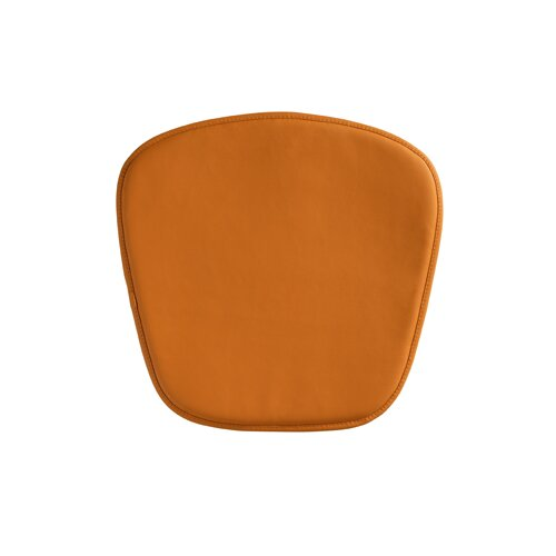 dCOR design Wire / Mesh Chair Cushion in Orange