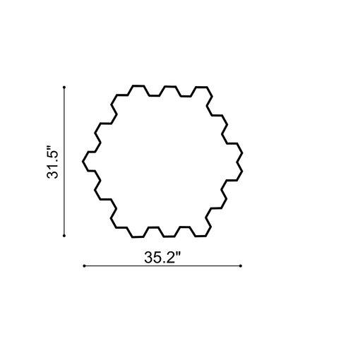 dCOR design Honeycomb Mirror