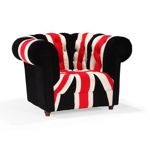 dCOR design Union Jack Armchair