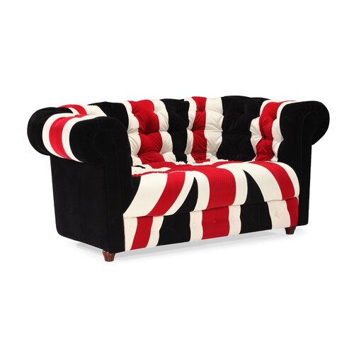 dCOR design Union Jack Loveseat