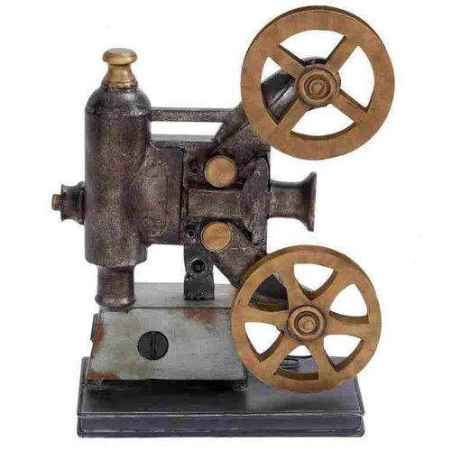 Metal Projector Figurine