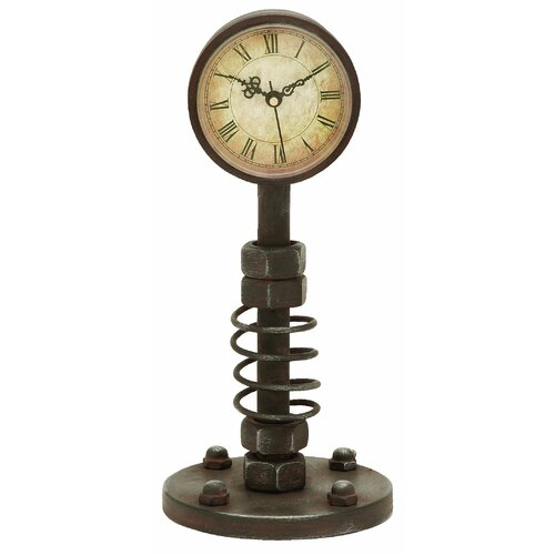 Woodland Imports Traditional Metal Clock