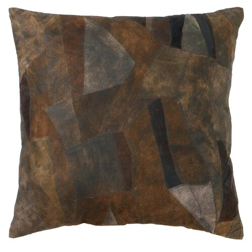 Woodland Imports Leather Decorative Pillow