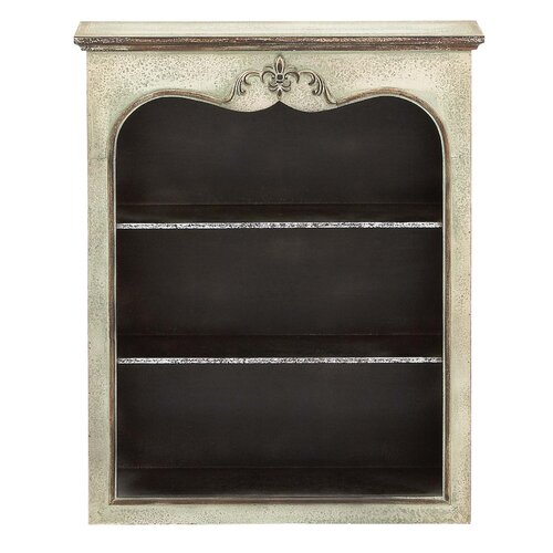 3 Compartment Wood Wall Shelf