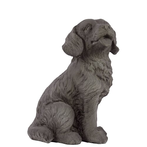 Fiberstone Sweet Dog Figurine