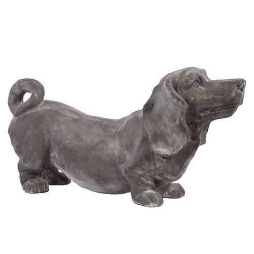 Chic Fiberstone Dog Figurine