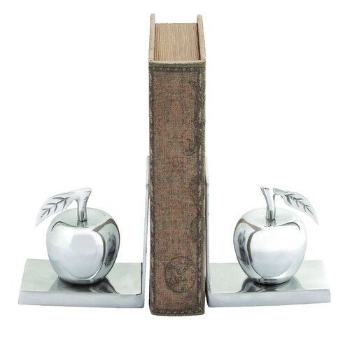 Woodland Imports Apple Book Ends