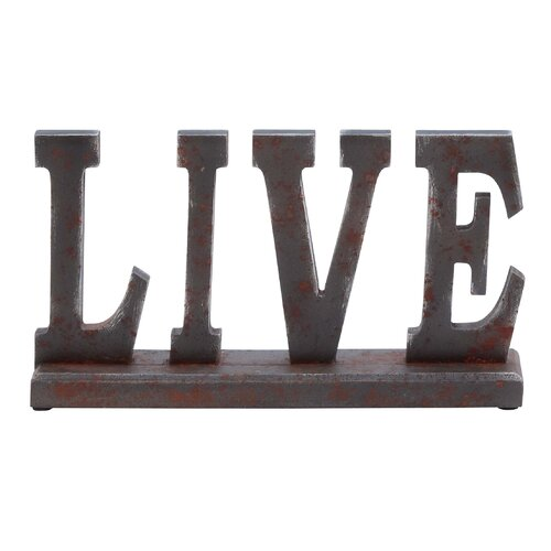 "Woodland Imports Table Top ""Live"" Statue"