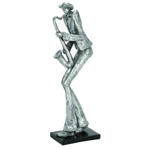 Woodland Imports Décor Sax Musician Statue